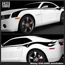 camaro firebreather chevrolet camaro firebreather side throwback stripes decals 2014