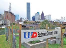 Urban Garden Houston Uhd Sustainable Community Garden On North Bank Of Buffalo Bayou