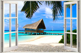 wall arts beach window wall murals beach window wall art hot full size of beach window wall murals beach window wall art hot huge 3d window wall
