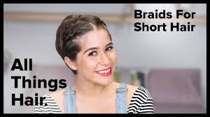 short hairstyles side braid and double dutch braid youtube