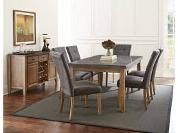 steve silver dining room debby dining table and six chairs