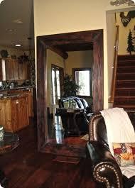 Oversized Closet Doors Diy Wood Framed Mirror Using Oversized Mirrors From Closet