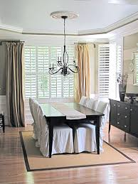 Swing Arm Curtain Rod Swing Arm Curtain Rod Dining Room Photo In Swing Arm