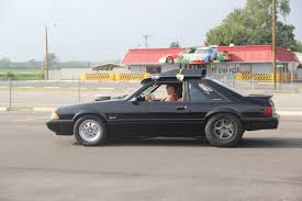 pizza mustang a ford mustang with a mopar small block engine rod