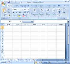 Microsoft Excel Worksheet Microsoft Excel Tutorial Lesson 2 The Columns Of A Spreadsheet