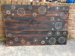 wood pallet wall art wood pallet projects pinterest pallet