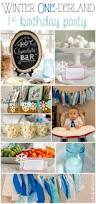 winter onederland first birthday party unoriginal mom