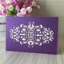 Shop Invitation Card Online Get Cheap Purple Invitation Envelopes Aliexpress Com