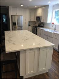 Full Overlay Kitchen Cabinets White Shaker Full Overlay Kitchen Cabinets With Quartz Carrara