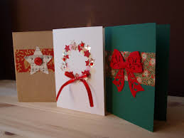 homemade thanksgiving card ideas diy christmas cards ideas 2014 to make at home