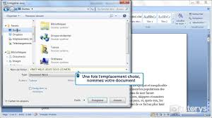enregistrer bureau comment enregistrer un document avec word 2007
