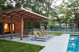 Awnings For Decks Ideas Pergola Roof Ideas Patio Modern With Awning Cedar Concrete Deck