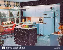 1950 u0027s kitchen stock photo royalty free image 90840919 alamy