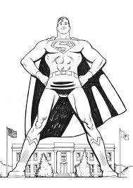 superman coloring pages 25159 bestofcoloring