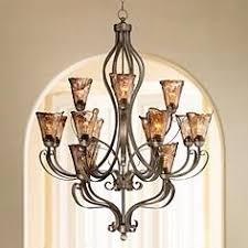 Bronze Chandeliers Clearance Bronze Entryway Chandeliers Lamps Plus