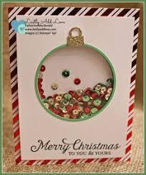 stampin u0027 up shaker card using u0027embellished ornaments u0027 u0026 u0027delicate