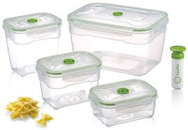 Food Container Storage Seal U0027in Nestable Food Storage Vacuum Containers Microwavable