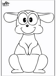 coloriage tv kangourou