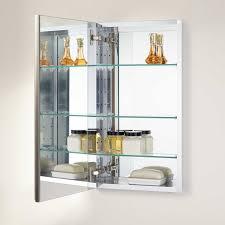 15 recessed medicine cabinet 15 bernstein recessed deco aluminum medicine cabinet bathroom