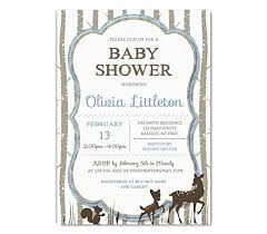 woodland baby shower invitations woodland baby shower invitation deer baby shower
