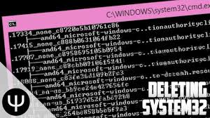 System 32 Meme - deleting system32 youtube