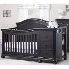 White Crib With Changing Table Luxury Espresso Baby Cribs With Changing Table Made From Wood 3