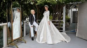 wedding dress grace the of miranda kerr s wedding dress the national