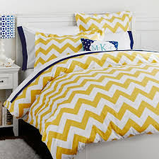 Pb Teen Duvet Chevron Duvet Cover Sham Yellow Pbteen