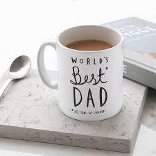 world u0027s best dad mug stylish ceramic mug for dad