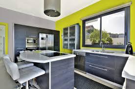 peinture verte cuisine peinture vert anis murale décohom