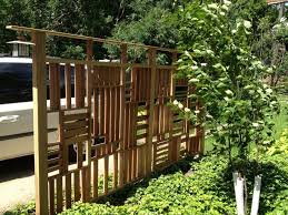 Backyard Privacy Screens Trellis 42 Best Modern Fences Images On Pinterest Modern Fence Backyard