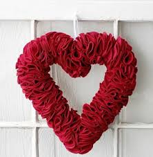 valentines day wreaths learn how to make 25 valentines day wreaths come flowers