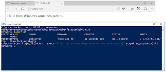 Docker Port Mapping Run Linux And Windows Containers On Windows 10