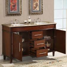 Old Fashioned Bathroom Pictures by Silkroad Exclusive Hyp 0222 T Uwc 55 55 Inch Double Sink Bathroom