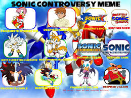 my sonic controversy meme owo by poke dream on deviantart