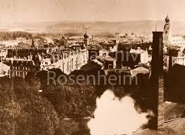 architektur rosenheim rosenheim um 1900 stadt und architektur