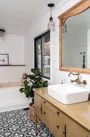 rustic modern farmhouse bath tour farmhouse bathroom makeover orc week 7 reveal white shiplap