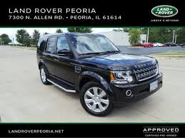 land rover lr4 2016 certified used 2016 land rover lr4 in peoria il vin