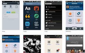 app design inspiration four for android design inspiration
