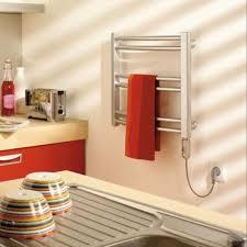 serviette cuisine mini sèche serviettes chromé pour cuisine ref 7854b finimetal mins80