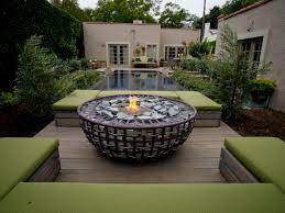 outdoor fire pits and pit safety landscaping ideas plus deck in
