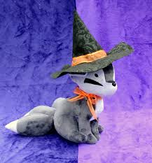 halloween fox giveaway halloween fox plush spooky plushie handmade kitsune