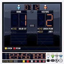 Hockey Scoreboard Light Fixture Hockey Scoreboard