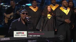 Stevie Wonder Why Is He Blind Beyoncé And Stevie Wonder Use Hurricane Harvey Telethon To Attack