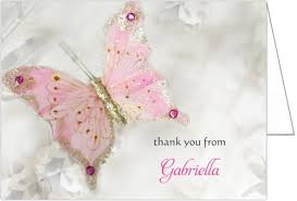 bridal shower thank you cards butterfly bridal shower thank you cards storkie