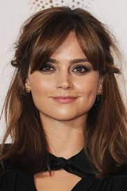 hairstyles for girls with chubby cheeks jenna coleman hairstyles for a wide round face cinefog
