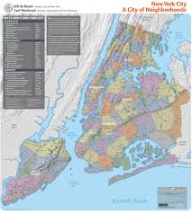 nyc tax maps nyc gets a neighborhood map from the city planning department