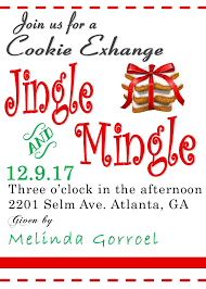 christmas cookie party invitations new selections for 2017