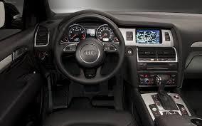 Exotic Car Interior Audi Q7 3 0t S Line 2012 Widescreen Exotic Car Image 04 Of 18