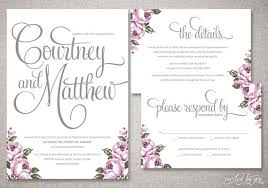 Shabby Chic Invites by Vintage Calligraphy